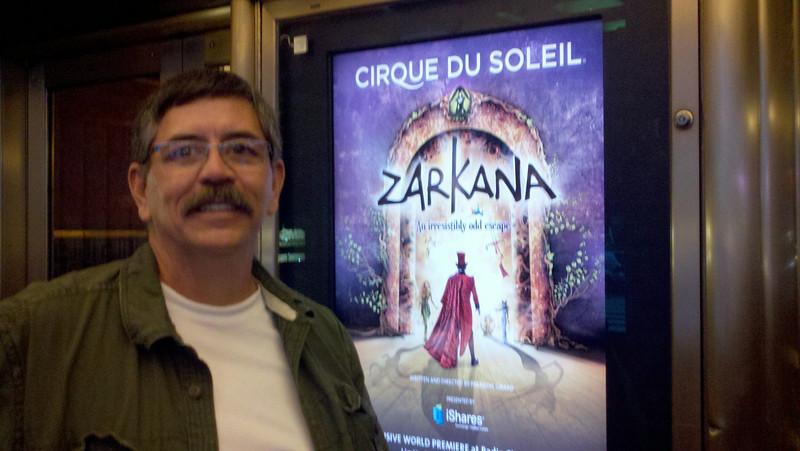 Joe at Cirque Du Soleil