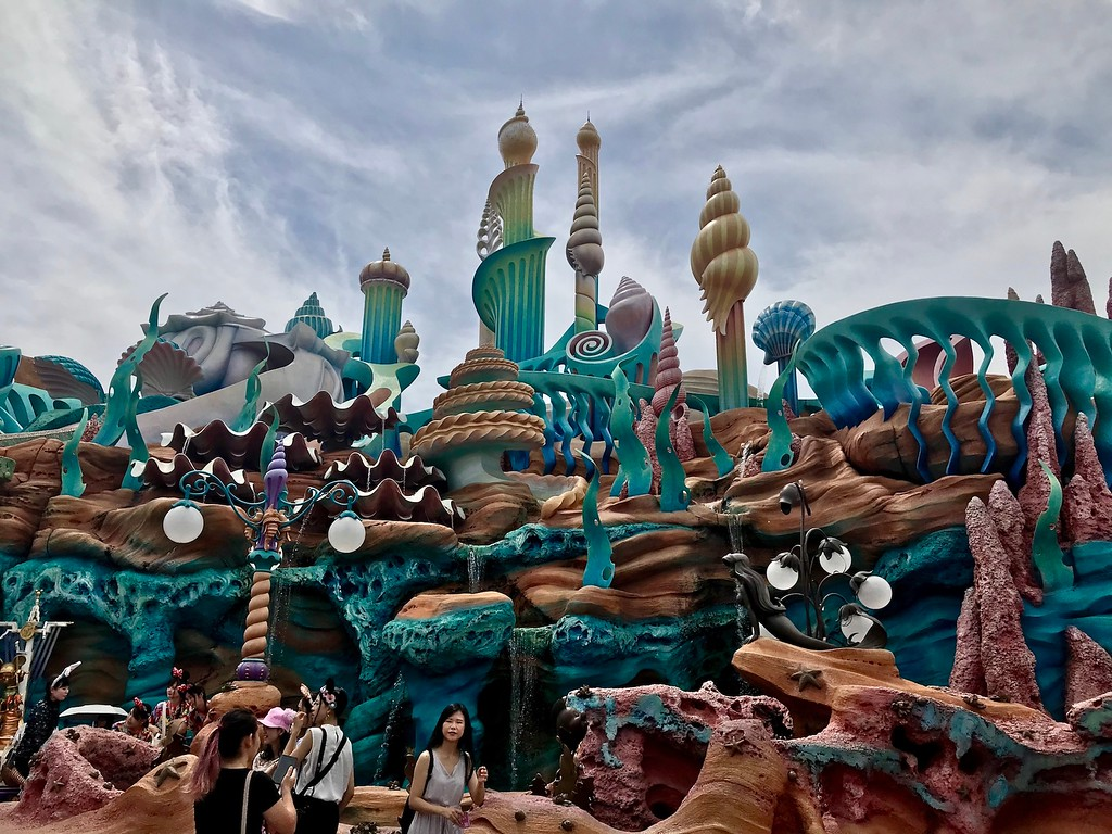 Triton's Kingdom in the Mermaid Lagoon at Tokyo DisneySea