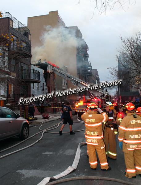 Brooklyn- 2nd Alarm, Skillman St- 12/21/15