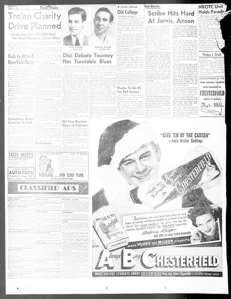 Daily Trojan, Vol. 40, No. 67, December 17, 1948