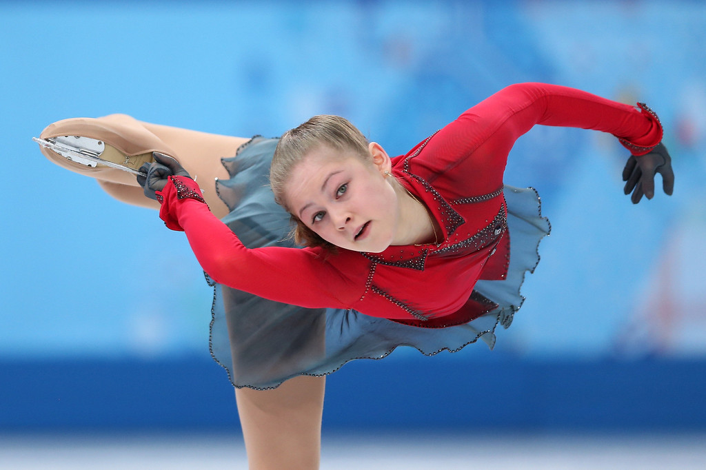 . Yulia Lipnitskaya of Russia competes in the Figure Skating Ladies\' Free Skating on day 13 of the Sochi 2014 Winter Olympics at Iceberg Skating Palace on February 20, 2014 in Sochi, Russia.  (Photo by Matthew Stockman/Getty Images)