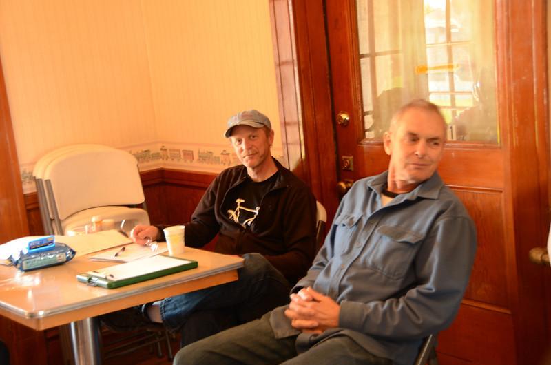Rob Hawks and Bruce Berg