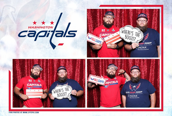 Washington Capitals at MedStar Iceplex in Arlington VA - 06-29-19