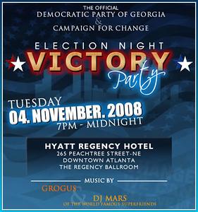 Election Night 2008 Victory Pary ::: Hyatt Regency ::: ATL, GA, USA [Nov.04.2008]