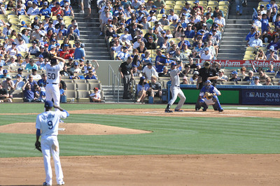 Mets at Dodgers Second Inning 30 June 2012