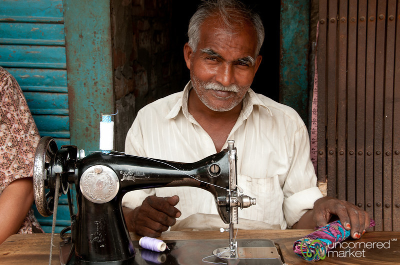 Tailor on the Streets of Rajshahi, Bangladesh