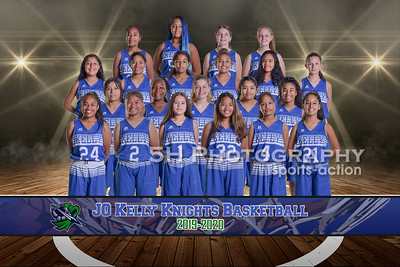 Kelly Middle School Girls BB