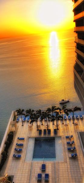 Panama City at dawn