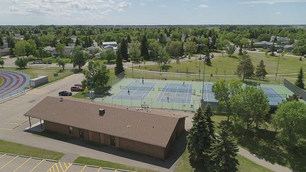 Kinsmen Sports Park and John Bole Athletic Field Drone Video