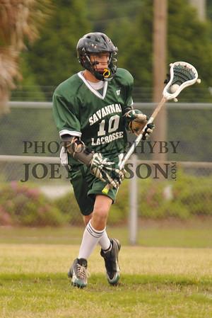 """Savannah Lacrosse Team - """"Test shots"""" 4/1/2009"""