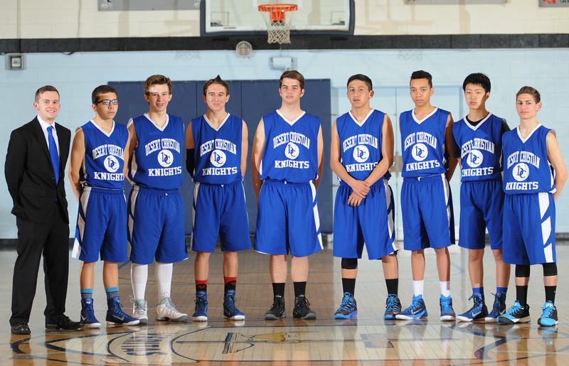 2014/2015 Desert Christian Junior Varsity