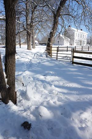 greg's house snow