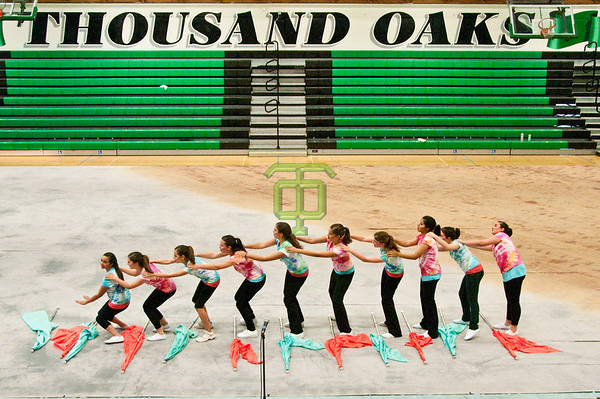 Los Cerritos Middle School Color Guard