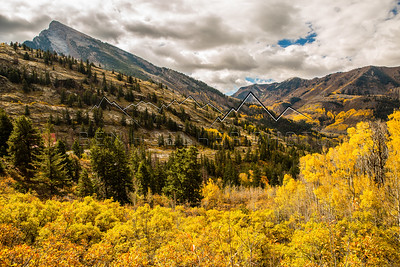 Fall Color outside of Marble, CO