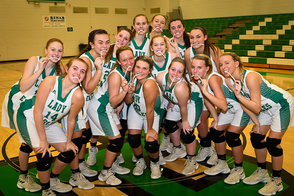 Hokes Bluff Lady Eagles v. Talladega, February 10, 2020