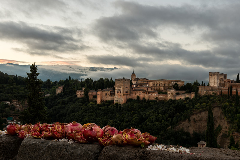 Pomegranates and Alhambra