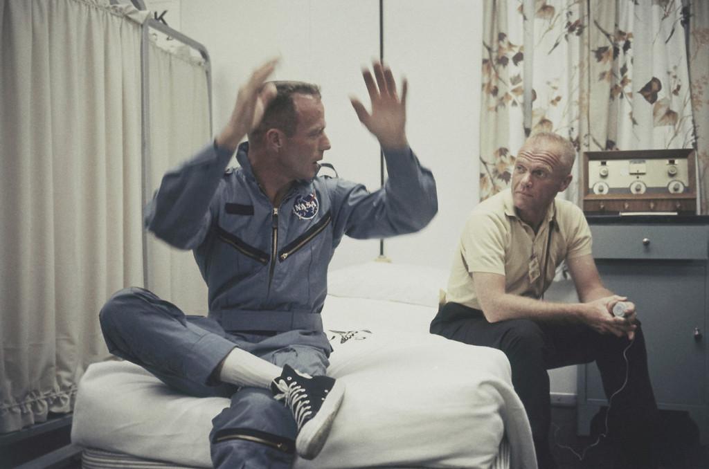 . Astronaut M. Scott Carpenter in May 1962. (AP Photo)