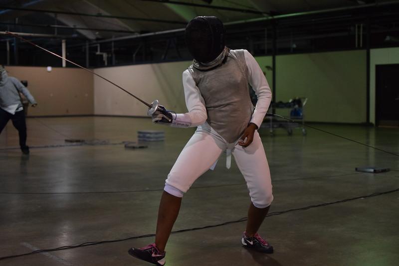 Zoë Sylvester-Chin Fencing