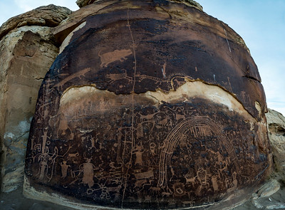 Rochester Panel and Dry wash petroglyphs