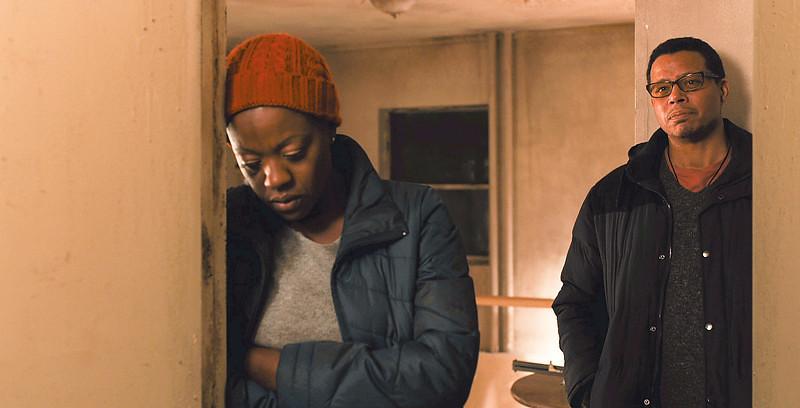. Viola Davis as Nancy Birch and Terrance Howard as Franklin Birch in \'Prisoners.\' (Warner Bros. Pictures)
