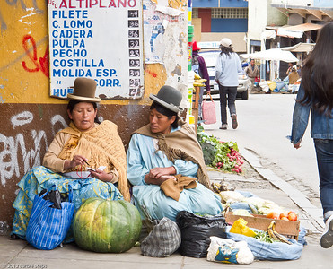 Street scenes in Bolivia