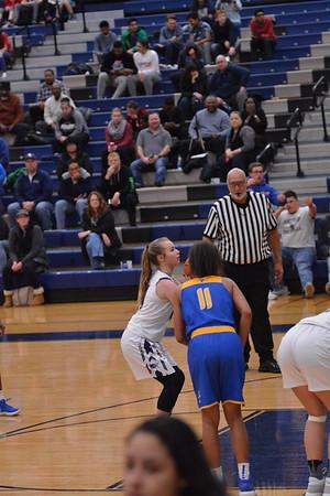 OE Girls Varsity Basketball Vs Joliet Central 2017