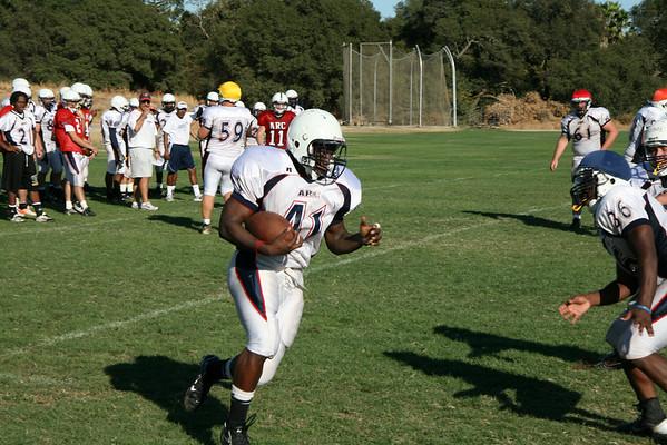 American River Beavers Football Pre-season Practice