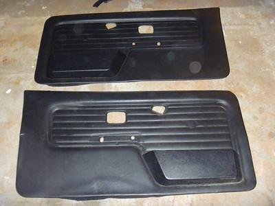 BMW e30 door cards