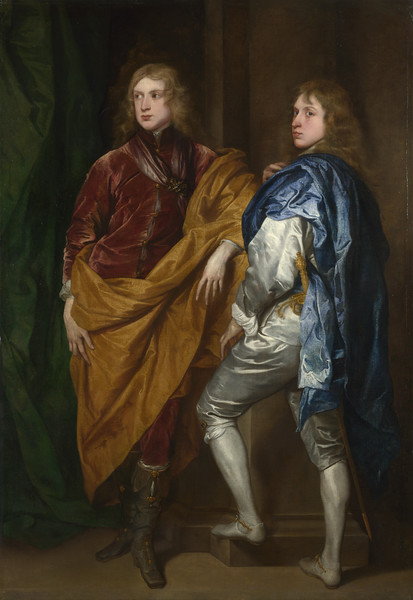Portraits of Two Young Englishmen