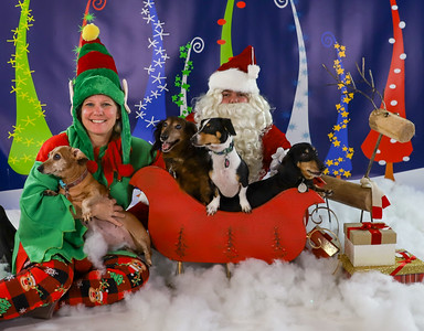 Barbara Kettles - Pet Pics with Santa