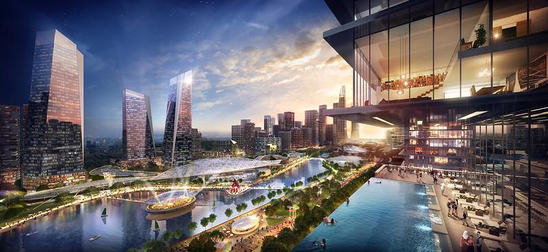 Bandar Malaysia Cityscape