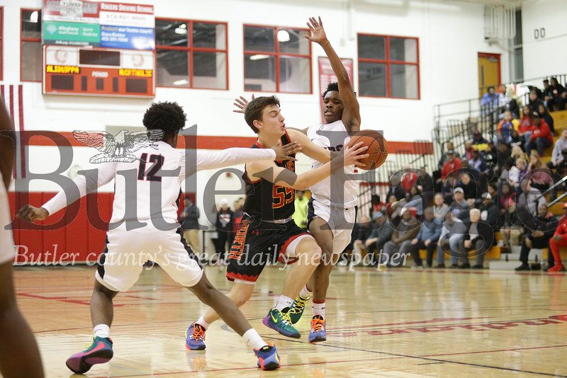 North Catholic vs Aliquippa Boys Basketball