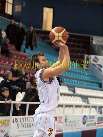 Basket: Ircop Rieti - Cagliari