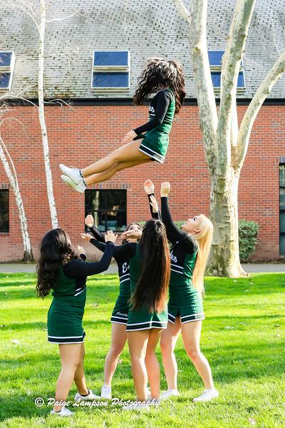 McNair Varsity Cheer