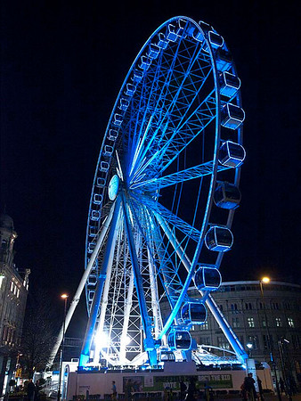 Big wheel in Sheffield