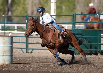 Sunday's PeeWee & Junior Barrels