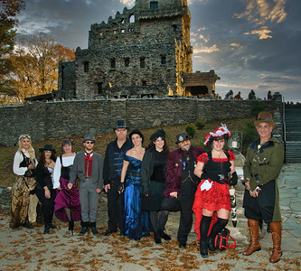 Silk City Steampunk at Gillette Castle