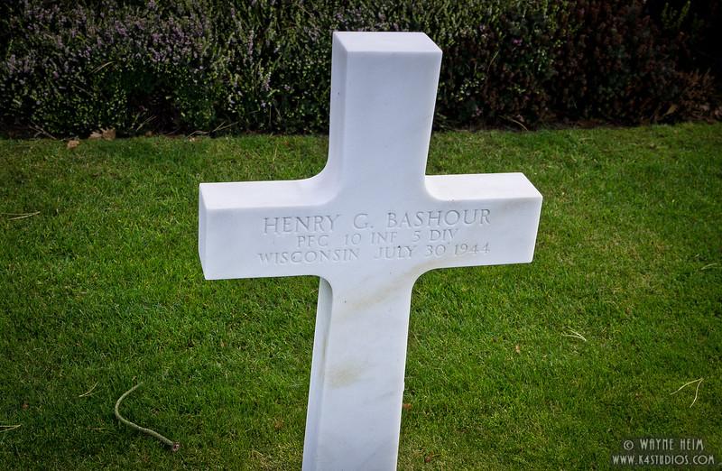 WW II Grave  Photography by Wayne Heim