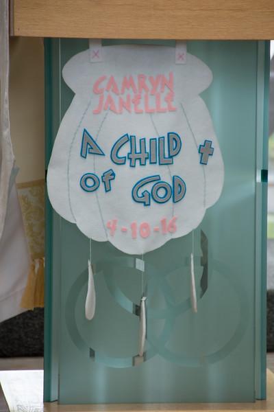 Baptism: Camryn Klein
