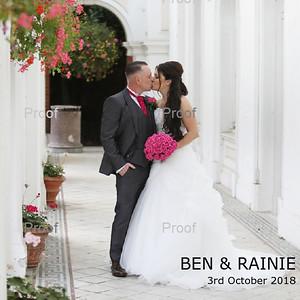 Ben & Rainie Album Design