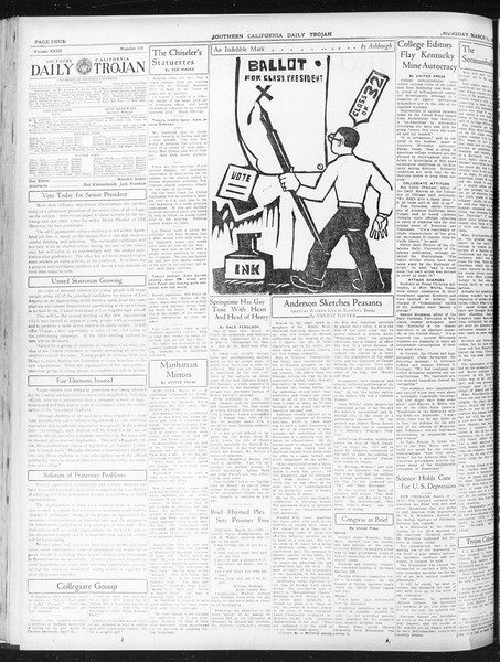 Daily Trojan, Vol. 23, No. 115, March 31, 1932