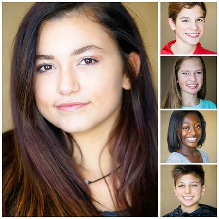 Collegiate Middle School Theatre Headshots | Nov. 2016