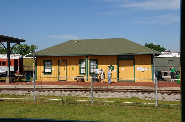 Oklahoma Railway Museum - Oklahoma City, Oklahoma