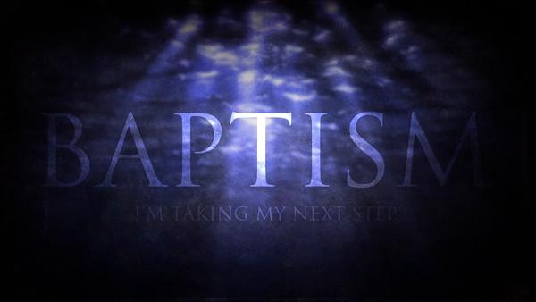 A2015F - Baptism