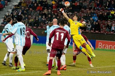 Liga 1 - CFR Cluj (ROU) vs. ASA Targu Mures (ROU)