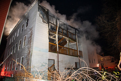 Maplewood Ave. Fire (Bridgeport, CT) 1/6/20