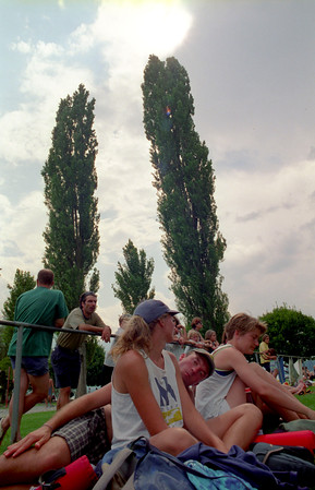 Red I's Hat 1999