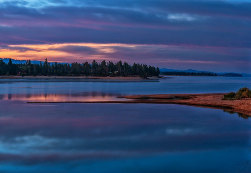 Blue Hour Sunrise