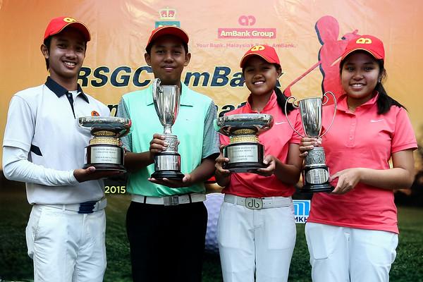 AMBANK RSGC Junior Amateur Open - Leading final round scores