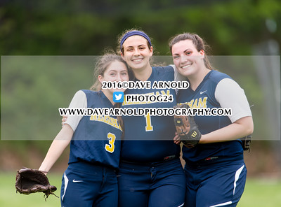 5/24/2016 - Varsity Softball - Dedham vs Needham